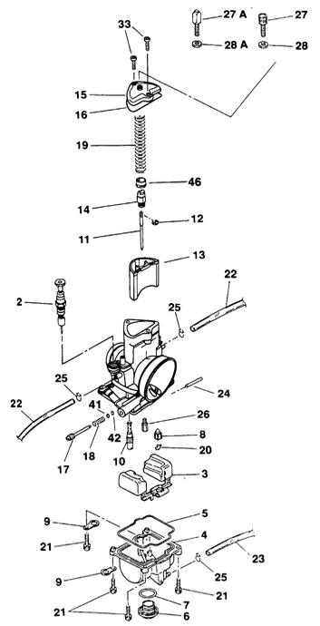 Keihin PWM carburetors and parts – Msquared Karting