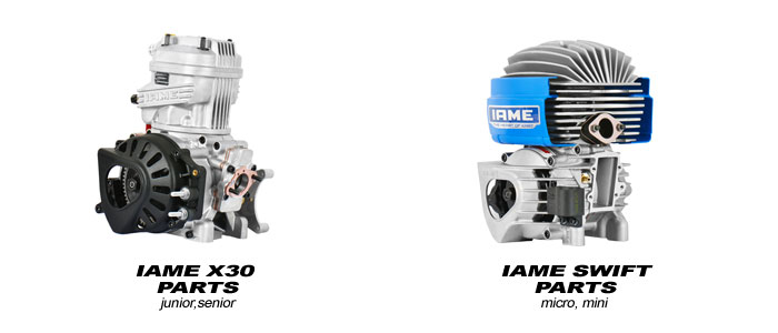 IAME engine parts – Msquared Karting